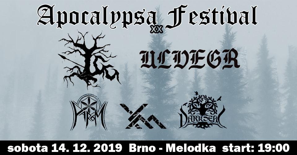 Apocalypsa Festival XX (Brno - Melodka)