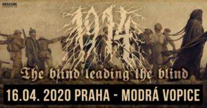 1914 + support @ MusicClub Modrá Vopice, Praha