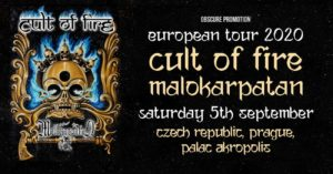 Cult of Fire / Malokarpatan @ Palác Aktropolis, Praha
