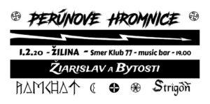 Perúnové hromnice @ Smer club 77, Žilina