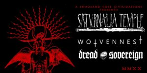 Saturnalia Temple / Wolvennest / Dread Sovereign (25. 2. 2020, Viedeň) @ Escape