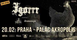 Igorrr / Otto von Schirach / Drumcorps @ Palác Akropolis, Praha