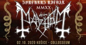 Mayhem, Mortiis + special guests @ Collosseum Club, Košice