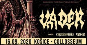 Vader + support (Chronosphere, Fallcie) @ Collosseum Club, Košice