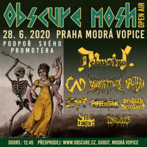 OBSCURE MOSH open air @ Modrá Vopice, Praha